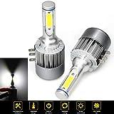 Ampoule H15 LED,110W H15 LED Ampoules de Phare Kits pour Lampes Halogènes et Kit Xenon avec Canbus 12V 24V 9200LM 6500K Hi/Low Beam Feux de jour DRL 2Pcs