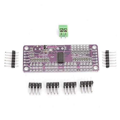 LF_FFa 1pc 16-Kanal 12-Bit PWM/Servotreiber-I2C-Schnittstelle PCA9685-Modul for Arduino oder Raspberry Pi-Schild-Modul Servo-Schild (Größe : 6.2 * 2.5 * 0.2cm)