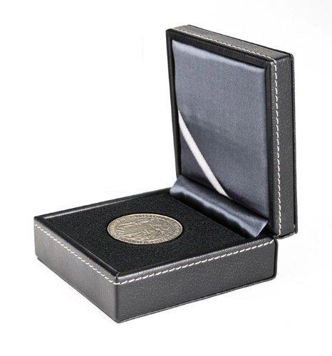 Lindner 2366 Estuche monedas NERA XS con plantilla patentada de forma adaptiva: Amazon.es: Juguetes y juegos