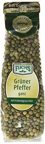 Fuchs Grüner Pfeffer ganz, 2er Pack (2 x 40 g)