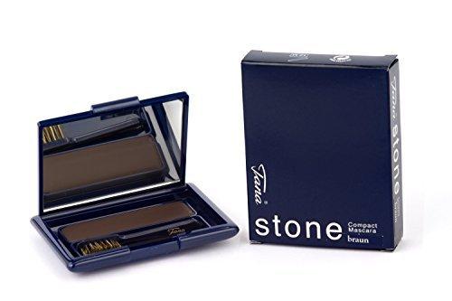 Tana Cosmetics - Stone Compact Mascara - Braun 7,7 g