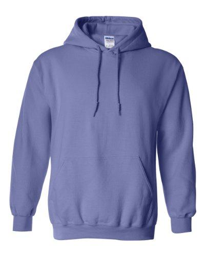 Heavy Blend 8 oz. 50/50 Hood (G185) Violet, XL