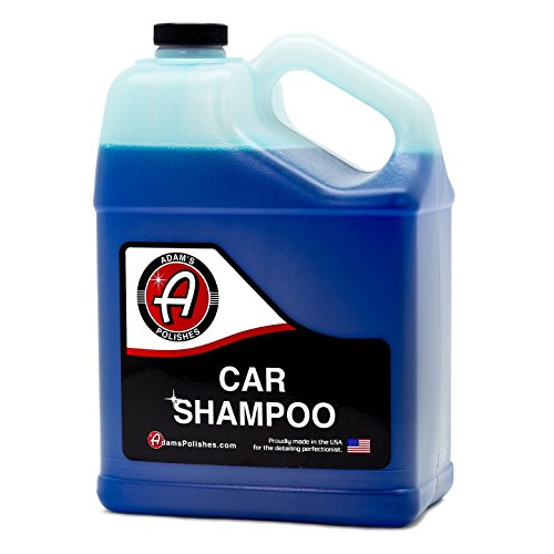Adam's Car Wash Shampoo -pH Neutral Soap Formula for Safe, Spot Free Cleaning - Thick, Luxurious...