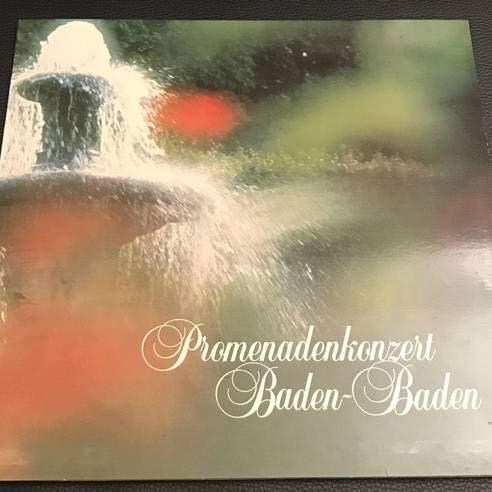 Baden-Badener Philharmonie , Werner Stiefel - Promenadenkonzert Baden-Baden - Tonstudio Mauermann - MAS 145