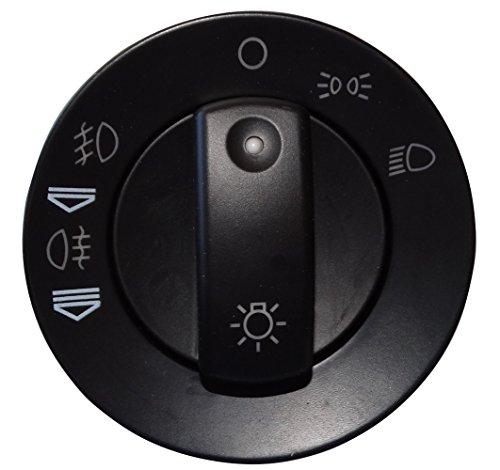 AERZETIX: Interruptor botón de función faros control de luz antiniebla compatible con 8E0941531A C16202
