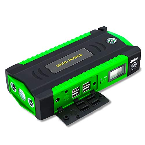 Auto Starthilfe 600A 12V High Power Bank Lithium-Polymer Auto Starten Batterie Ausgangs Gerät Booster Starter mit Kabel,gre