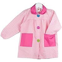 KLOTTZ - BABI CUADROS GUARDERIA Niñas color: ROSA talla: 4