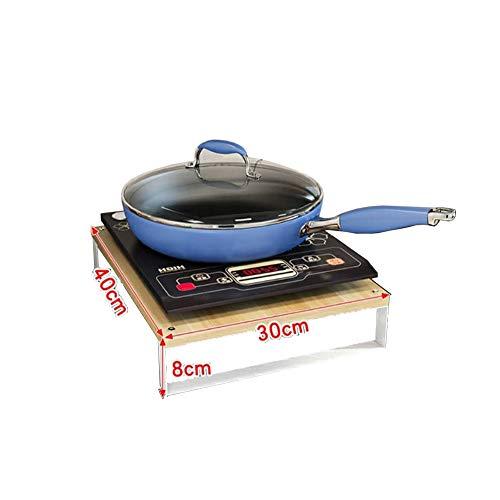 Support Multifonction pour ustensiles de Cuisine, Couvercle de cuisinière à gaz, Tapis de cuisinière à Induction, Support de cuisinière, Couleur:B