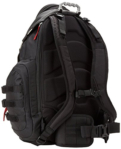 Oakley Men's Kitchen Sink Backpack, Black/Red, One Size