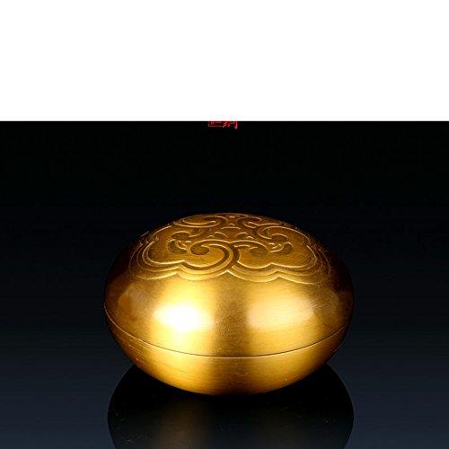 Hong Patrone Schmuck Aufbewahrungsbox Dekoration Handwerk Puderdose