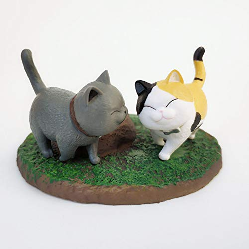 Imanes de nevera 2pc de dibujos animados Gato Kitty Nevera Imán Paster Pegatina de la Caja de Hielo Niño Juguete Lindo Animales Refrigerador