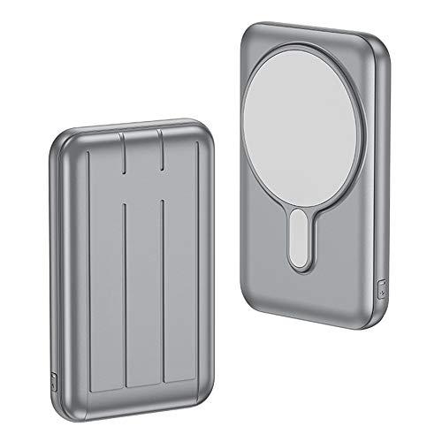 Chnrong Qi - Cargador portátil magnético inalámbrico Mag-Safe PD 15 W USB.C de carga rápida compatible con iPhone 12 Pro / 12 Pro Max / 12 Mini todos los teléfonos compatibles con Qi