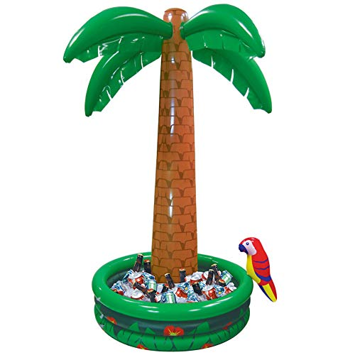 amscan Jumbo Inflatable Palm Tree Drinks Cooler 1.82m-1 Pc