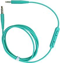 OEM Replacement Audio Cable with Mic & Remote for Bose On-Ear 2/OE2/OE2i/QC25/QC35/Soundlink/SoundTrue Headphones, Compatible with iPhone & Android(Green)