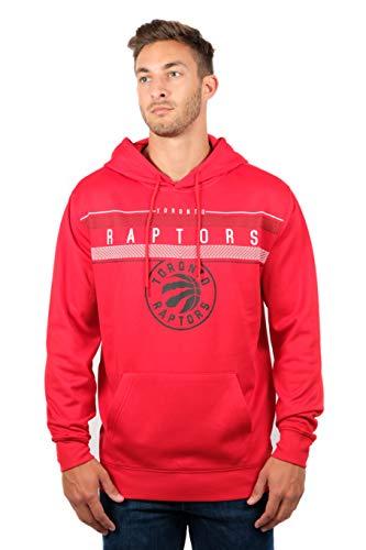 Unk NBA Midtown NBA - Sudadera con Capucha para Hombre (Forro Polar, Talla L), Color Rojo