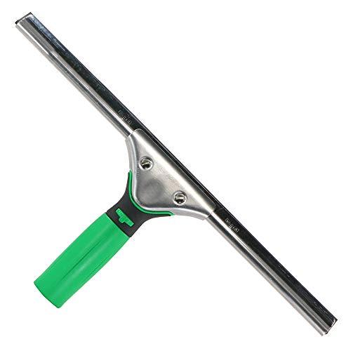 Unger Fensterreiniger ErgoTec Hard (Länge 35 cm, Fensterabzieher, harter Wischergummi, ideal für warme Temperaturen) ES35H