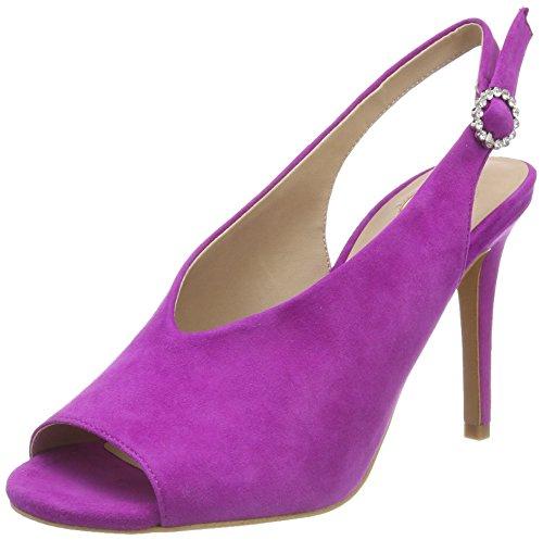 Buffalo 317-2931 Suede, Sandales Bride arrière Femme, Rose (Purple 01), 36 EU