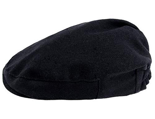 A&J DESIGN - Gorro de boina para niños,  Negro (dark black), 44cm/3-6 Months