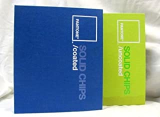 Pantone SOLID CHIPS Coated & Uncoated, Two Book Set