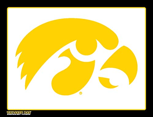 Wow!Pad Extra Large 9.5' x 12.5' Collegiate Tailgate Gaming Mouse Pad, Made in USA, University of Iowa