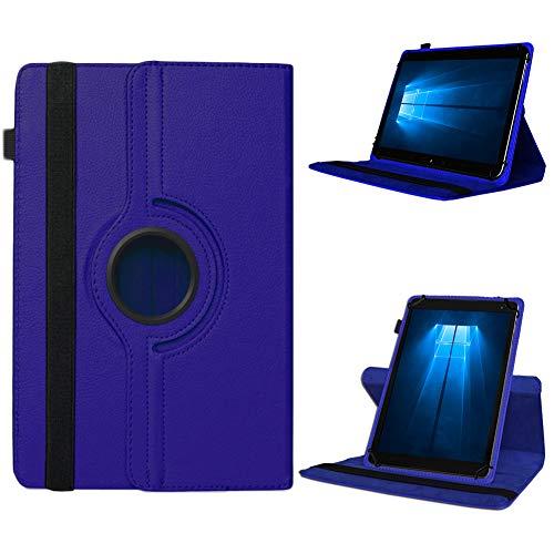 UC-Express Odys Connect 7 Pro Tasche Tablet Hülle Cover Hülle Schutzhülle 360° Drehbar Etui, Farben:Blau