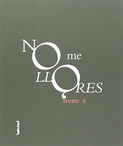 NO ME LLORES (colección de poesía)