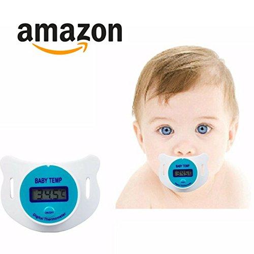 Chupon Termometro Bebe y Niños (Azul)