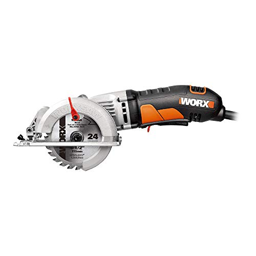 WORX WORXSAW Compact Circular Saw – WX429L, 4-1/2