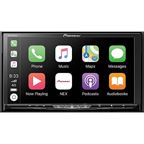 Pioneer AVH-W4500NEX Double Din Wireless Mirroring Android Auto, Apple Carplay In-Dash DVD/CD Car Stereo Receiver