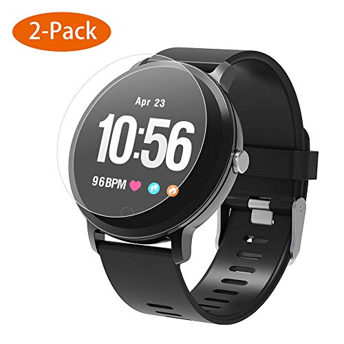 BingoFit [2 Pack Screen Protector for SW302 Epic smart Watch Bubble-Free HD Clear Flexible Film