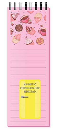 Nourish Cupcake - Magnetic Refrigerator Memo Pad