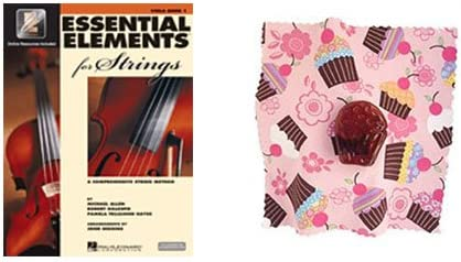 Essential Elements for Strings Viola Book - Cupcake depot BONUS with 1 Max 69% OFF