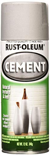 Rust-Oleum 323384 Cement Spray Finish, 12 Ounce (Pack of 1)