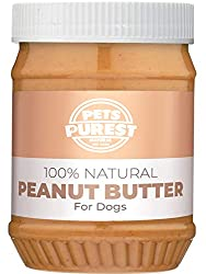 100% NATURAL INGREDIENTS: Pets Purest Peanut Butter is specially formulated for Dogs. The majority of peanut butter aimed at humans is in fact not suitable and often unsafe for Dogs. Our Peanut Butter was made with Dogs in mind to ensure it is 100% s...