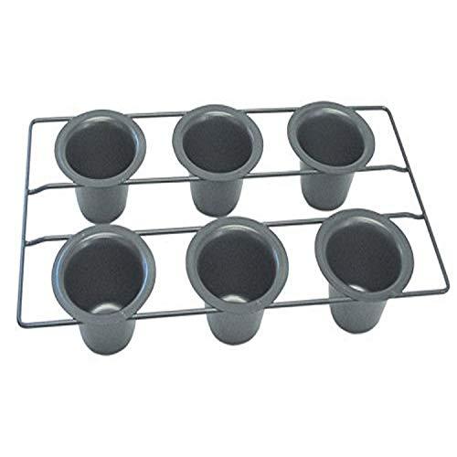 R&M International Non-Stick 6-Cup Popover Pan