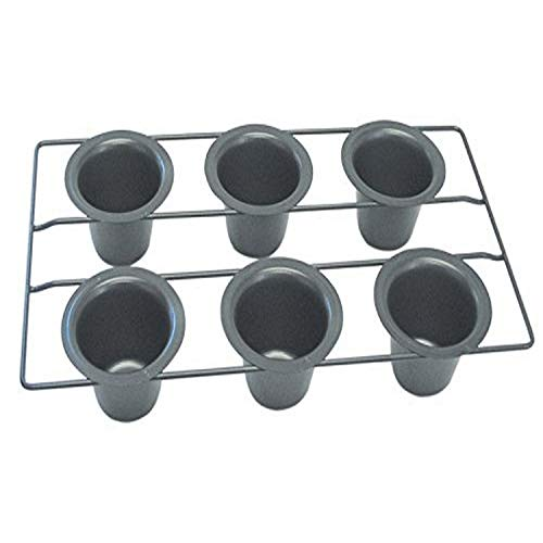 R&M International Non-Stick 6-Cup Popover Pan