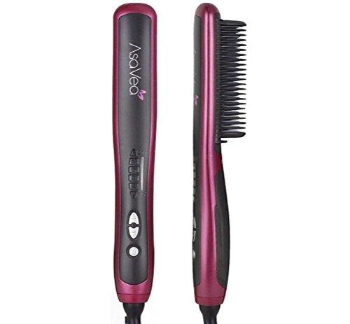 Hair Straightening Brush 2, Anti-scald Patented...