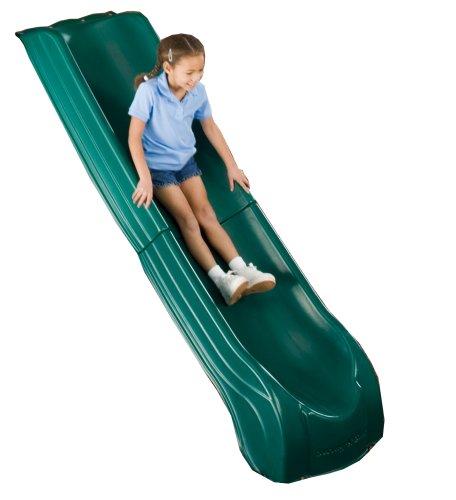 "Swing N Slide Summit Slide - Green ,84"" x 21"" x7.5"""