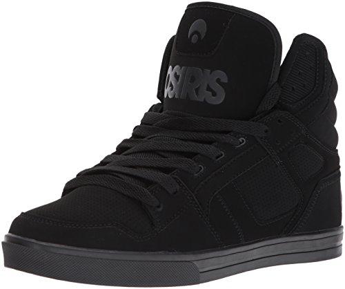 Osiris Herren Clone Skate Schuh, Schwarz (Schwarz/Ops), 43 EU