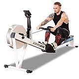 KY Vogatori Home Vogatore, 8 Livelli di Resistenza al Vento Regolabile 7kg Flywheel Fitness Cardio...