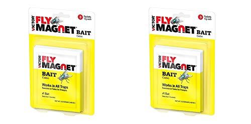 Safer Brand Victor M383 Fly Magnet Bait 3-Pk (2 Pack)