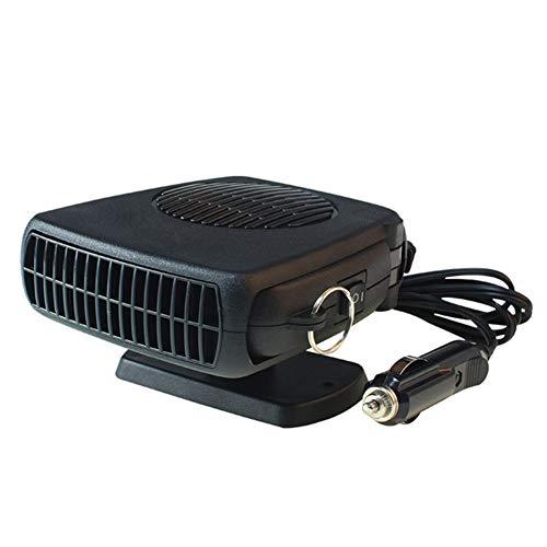 FJLOVE 12V/24V Car Heater Portable Heater and Cooler Defrost Fan 150W Automobile Demister Cooling Car Heater Fan Plug in Cigarette Lighter Best Gift for Winter,24V