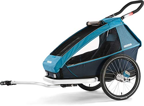 Croozer Kid Plus for 1 2019 Ocean Blue