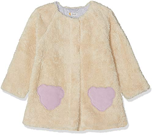 Steiff Jacket Blouson, Blanc (Cloud Dancer 1001), 104 Bébé Fille