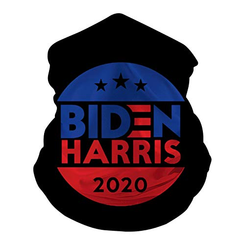Melitolay Biden Harris 2020 Bandanas Funny Headbands Reusable Face Anti Dust Mask for Festivals,Raves,Riding,Outdoors