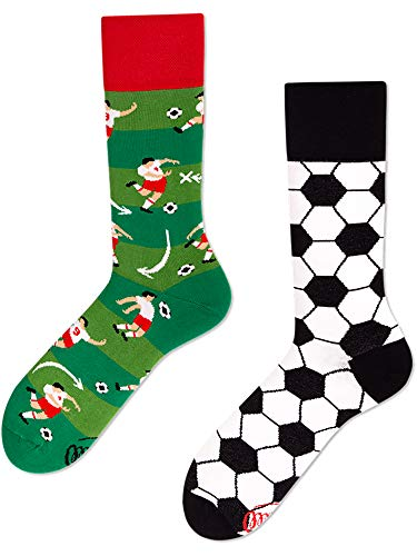Many Mornings unisex Socken Football Fan (43/46)