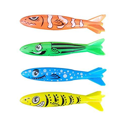 4 STÜCKE Batteriebetriebene Elektrische Schwimmende Fisch Goldfisch Baden Bunte Leuchtende Goldfisch Spielzeug Kinder Badewanne Badewanne Pool Dusche Spielzeug (4 stück)