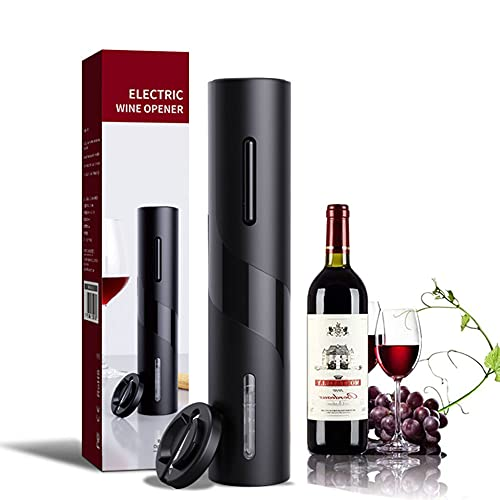Kit Abrebotellas Eléctrico para Vino, Abrebotellas Inalámbrico, Sacacorchos Eléctrico, Abrebotellas Eléctrico, Sacacorchos Inalámbrico Automático, Con Cable de Carga USB