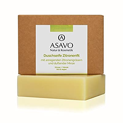 ASAVO Premium Naturseife Zitronenfit