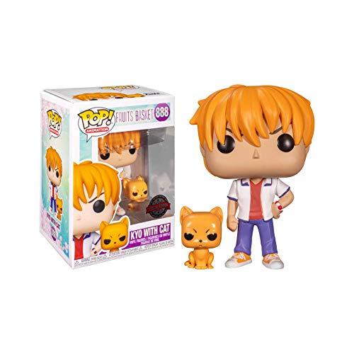 Funko Pop! Animação #888 – Kyo com gato exclusivo